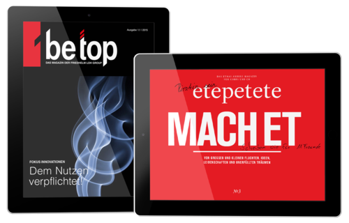 TiMe Agentur Production Tablet betop etepetete DPS Composing iPad